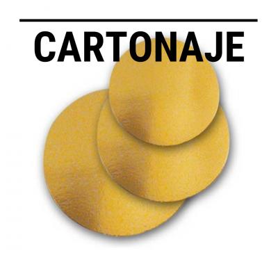 Cartonaje: Platos, bandejas, Discos y Formatos