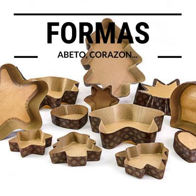 Formas: Abeto, Corazon, Multiporciones, etc.