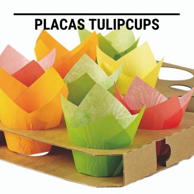Placas Tulipcups