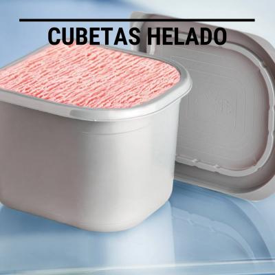 Cubetas Helado